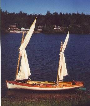 "ALASKA"" Design by Dan Kurilkyo, 18'-1"" strip planked cedar hull ..."