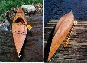 finished kayak